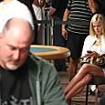 Tom Schneider is looking good at the 2008 WSOP H.O.R.S.E. event.
