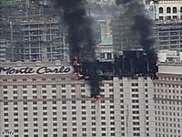 Monte Carlo Las Vegas is on Fire