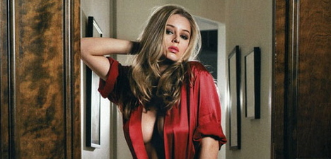 Keeley Hazell in FHM Australia