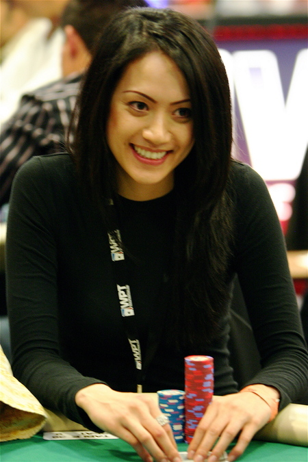 Diane Nguyen at the WPT Invitational