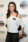 Dancing with the Stars Shannon Elizabeth at Poker Event