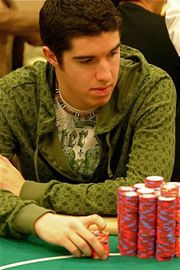 Blair Hinkle leads WPT Bay 101 Shooting Star Day 1b play.