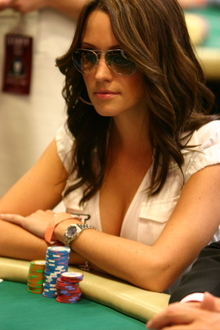 Kimberly Lansing of the World Poker Tour