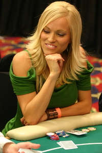 Annie Duke was on Deal or No Deal, case girl Brooke Long plays poker