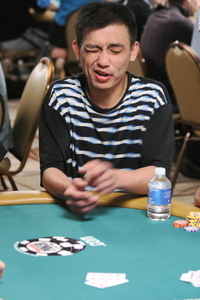 Vinnie Vinh at the WSOP