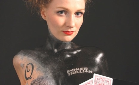 Poker player Catgirl to play World Open painted naked