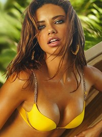 Adriana Lima is from Brazil where the LAPT Rio poker tournament is being held
