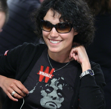 Alexia Portal, the super sexy cute French actress, is here playing poker at the World Series of Poker