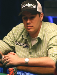 Grant Hinkle wins Event No. 2 at 2008 World Series of Poker