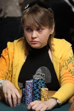 Svetlana Gromenkova at the WSOP