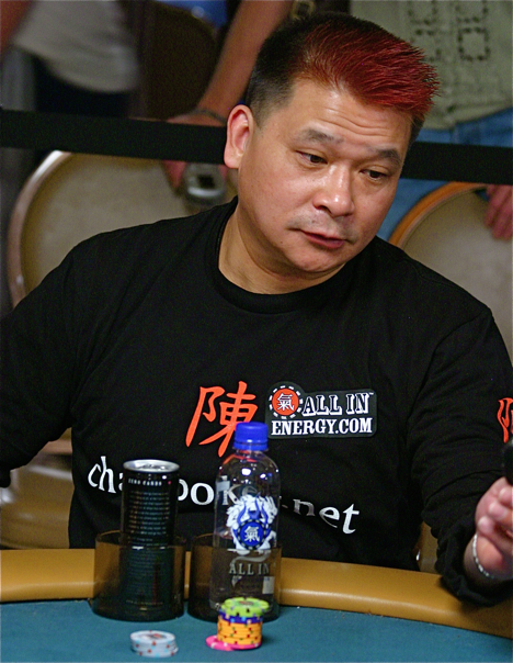 Johnny Chan is the Ginger of the day at the 2008 WSOP