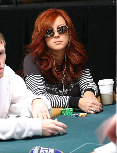 Actress and poker player Jennifer Tilly at the 2008 World Series of Poker