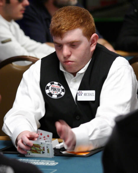 Ginger deal at the 2008 WSOP