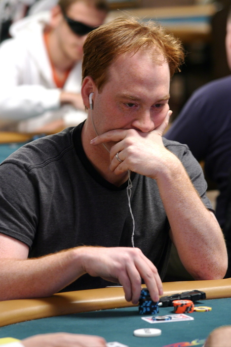 Eric Kesselman is the Ginger of the Day at the WSOP