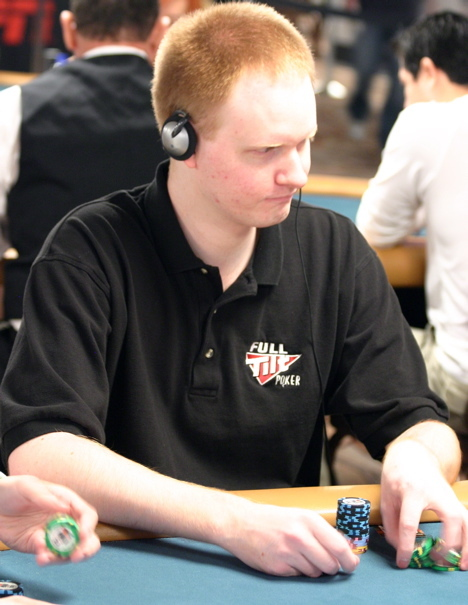 Jon Pearljammer Turner being all ginger-y at the 2008 WSOP