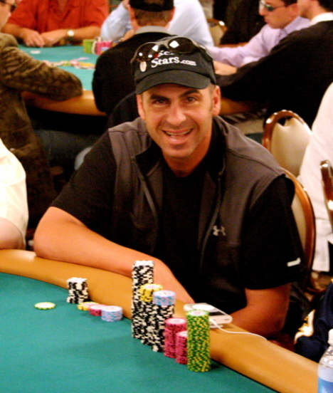 Rocco Mediate at thee 2008 WSOP