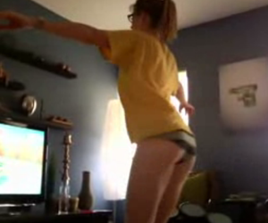 Wii Fit Girl Video