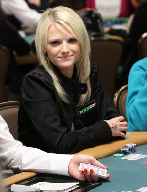 Amanda Leatherman at the 2008 WSOP