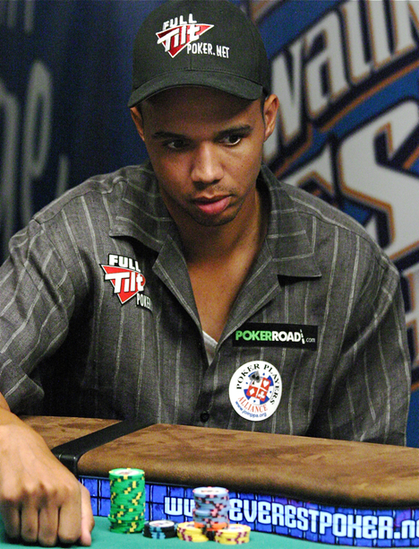 Phil Ivey 2008 WSOP Main Event