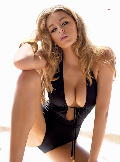 Keeley Hazell in Maxim France
