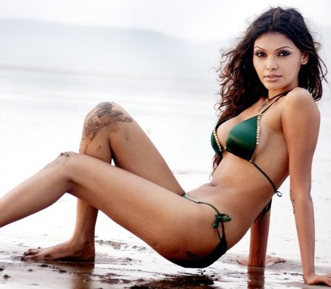 This hot indian model has nothing to do with the World Poker Tour broadcasting in India