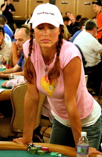 Shannon Elizabeth at World Series of Poker 2005